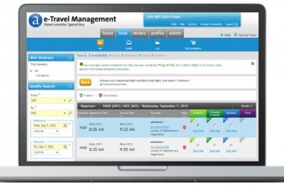 Amadeus has launched mobile booking app and new UI for its online corporate travel booking tool.