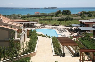 The new five-star Apollonia Resort & Spa, in Xi, Lixouri on Kefallonia.
