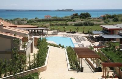 The new five-star Apollonia Resort & Spa, in Xi, Lixouri on Kefallonia.