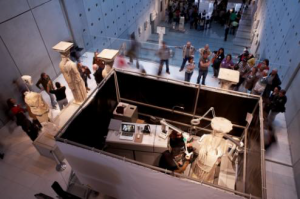 Laser conservation of the Caryatids at the Acropolis Museum