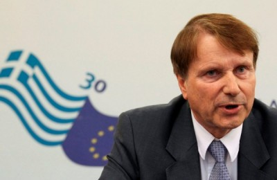 Horst Reichenbach, head of the Task Force of the European Commission in charge of providing technical assistance to Greece.