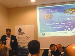 Chairman and managing director of the Heraklion Port Authority, Ioannis Bras, informs Greek tourism professionals in regards to the authority's very successful local cooperation in cruise destination development and promotion.