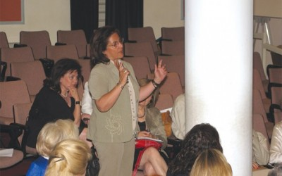 "During the workshop, ATEDCo's President Katerina Katsabe made particular reference to the strategic action plan of the City of Athens that aims to promote Athens as a city break and conference tourism destination. However, Marianna Tsigaridis, licensed tourist guide (photo), asked her what exactly was being done to solve the city's problems. ""It's embarrassing for me to explain to tourists why Greece gives the impression of a third world country with garbage and stench in the street and near the monuments,"" she stressed."
