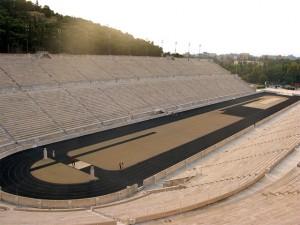 Athens' Panathenaic Stadium (Kallimarmaro).