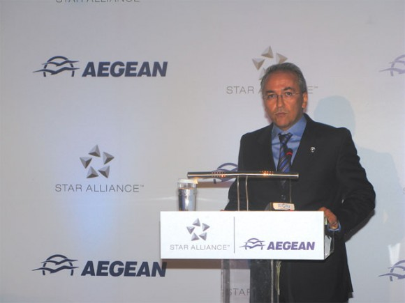 """""""A possible imminent approval of our agreement with Olympic Air could allow us to present in the summer of 2011 an expanding profile,"""" Aegean's managing director Dimitris Gerogiannis said last month in a press release."""