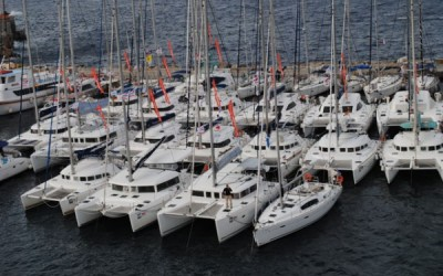 The 3rd Catamarans Cup international regatta by Istion Yachting kicked off on Saturday, 20 October 2012.
