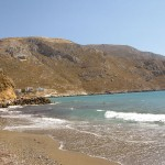 Linaria - One of the quietest beaches on the island, located near Panormos.