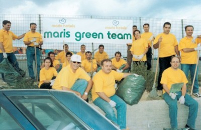 Candia's Green Team made its first official appearance on September 27, World Tourism Day.