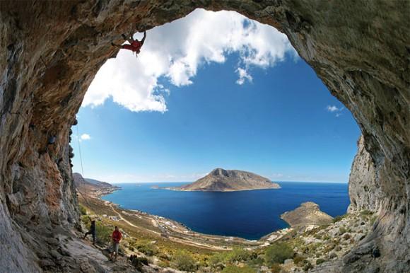Nikolaos Smalios climb on north-cape Massouri.