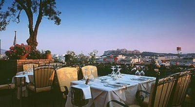 Titania Hotel's all day gourmet restaurant Olive Garden.