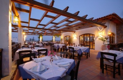 "The Creta Maris Beach Resort's a la carte restaurant ""Pithos."