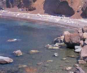 Santorini's Red Beach. Provider: © Greek National Tourism Organization - USA (GNTO).