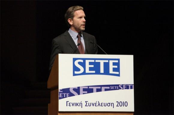 Cultutre and Tourism Minister, Pavlos Geroulanos.