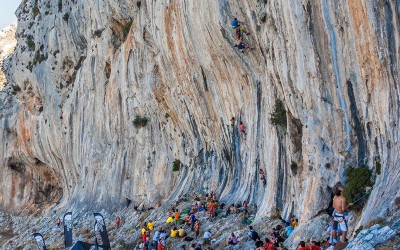 Kalymnos Climbing Festival 28-30 September 2012. Photo courtesy of Nikolaos Smalios.