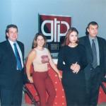 GTP' s friendly foursome, Stefanos Tsimopoulos, Dimitra Chrysanthopoulou, Olga Kontou and Thanassis Kavdas.