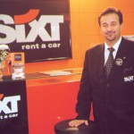 Yiannis Missias, sales manager for Sixt Rent a Car, promoted company's many offices in Greece. Six boasts 18 offices and branch offices throughout the country.
