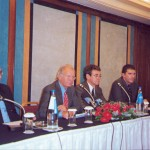 SETE's president, Spyros Kokotos (second from left), lashed out for failing to create a long term tourism strategy.