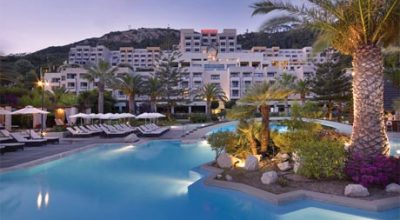 The Sheraton Rhodes Resort will welcome guests as of 1 April following an extensive two million euros renovation project.