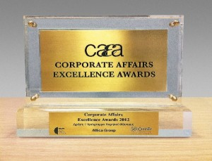 Corporate Affairs Excellence Award