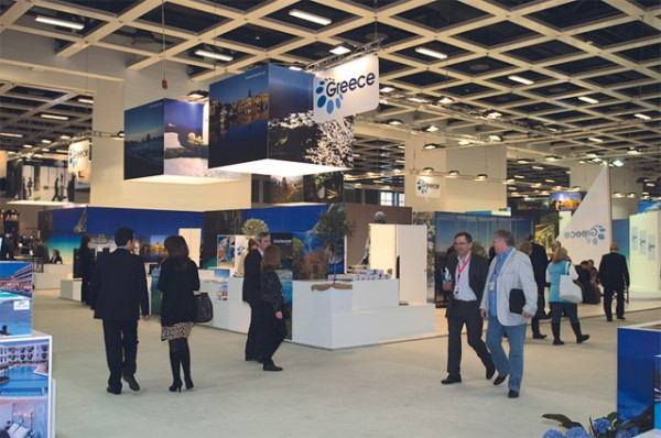 GNTO's stand at ITB Berlin 2011.