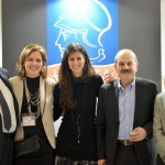 HATTA President Yiorgos Telonis with the association's vice president, Despina Amarantidou, and members Maria Theofanopoulou, Lysandros Tsilidis and Vasiliki Skagia.