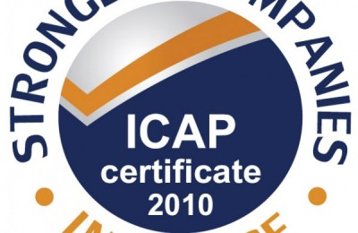 Strongest Companies in Greece - ICAP certificate 2010