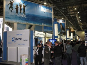 WTM Greek pavilion (archive photo)