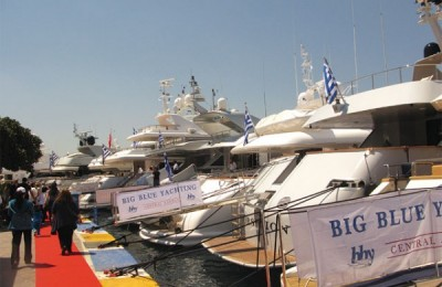 """Greek marine tourism was represented to a great extent last month via the 10th exhibition of luxurious professional yachts """"Charter Yacht Show-Poros 2011"""" held at Poros Port."""