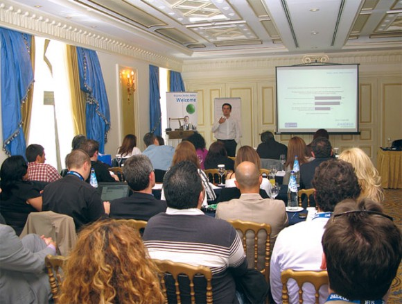 """A seminar entitled """"Success in Online Travel"""" was hosted by Amadeus in order to familiarize Greek travel agencies with various technological tools, to create awareness on emerging new online trends and to support them to """"think"""" or even """"re-think"""" their online strategies."""
