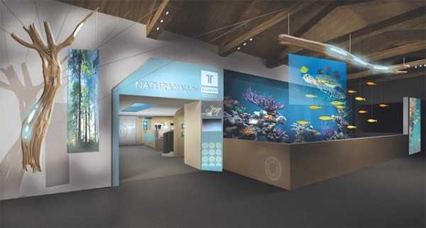 """The unique interactive exhibition center """"Navarino Natura Hall by Hellenic Postbank"""" in Costa Navarino was officially presented in Athens last month."""