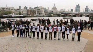 Greek Flash Mob In London - WTM 2012
