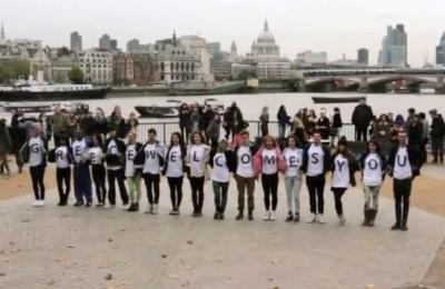 Greek Flash Mob In London - WTM 2012