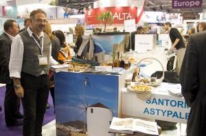 WTM 2012 - Astypalea stand