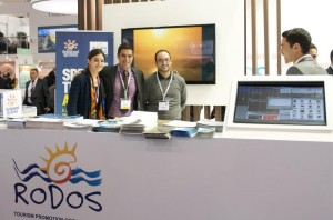 WTM 2012 - Rodos stand