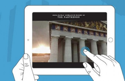 "Greek director Costa Gavras provided footage to artistically enhance the ""Amazing Athens"" application."