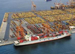 Cosco's Dock II in Piraeus