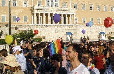 """Athens Rainbow Week"" is scheduled to coincide to Athens Pride (archive photo). Also, until we went to press, sources confirmed that for the first time since its organization (2005), this year's Athens Pride will be held under the auspices of the City of Athens."