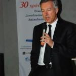 SETE (Association of Greek Tourism Enterprises) President and former president of the Chalkidiki Hotel Association Andreas Andreadis.