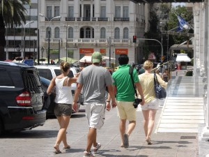 """Tourists tend to turn their backs to city-break destinations that are not """"alive"""" on weekends, according to Greek hoteliers."""