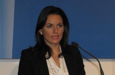 Tourism Minister Olga Kefalogianni