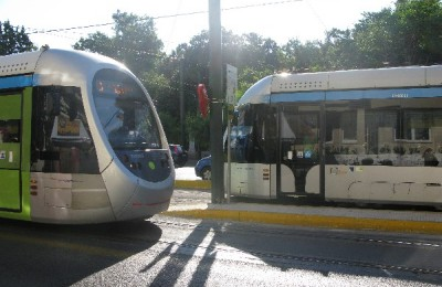 Athens public transport.
