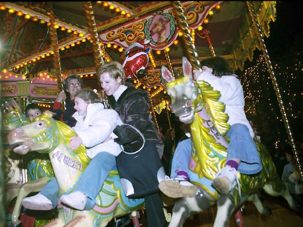 Carousel, archive photo.