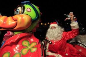 Santa at Asterokosmos!