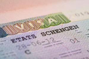 Visa in the passport,argophilia.com