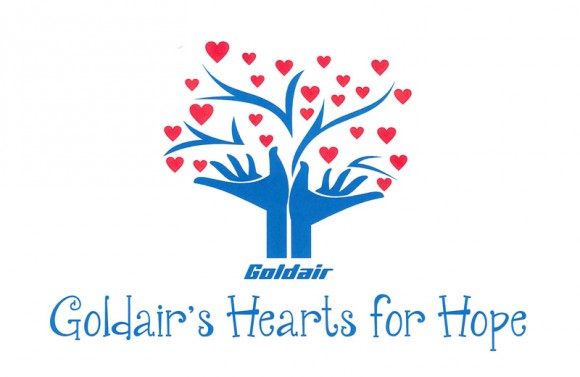 Goldair's Hearts for Hope