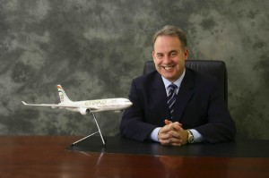 Etihad Airways President and CEO James Hogan.