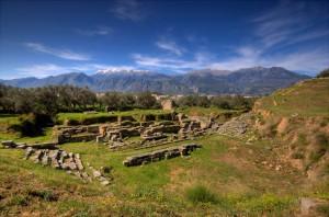 Sparta, ancient theater. Provider: © Facebook - ΟΙ ΟΜΟΡΦΙΕΣ ΤΗΣ ΕΛΛΑΔΑΣ ΜΑΣ.