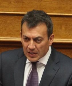 Greek Labor Minister Yiannis Vroutsis