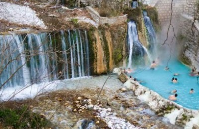Hot-water springs, Loutraki-Pozar (Aridaia)