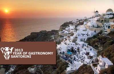 2013 Year Of Gastronomy In Santorini